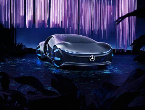 Mercedes-Benz VISION AVTR Concept - avatar - ces 2020