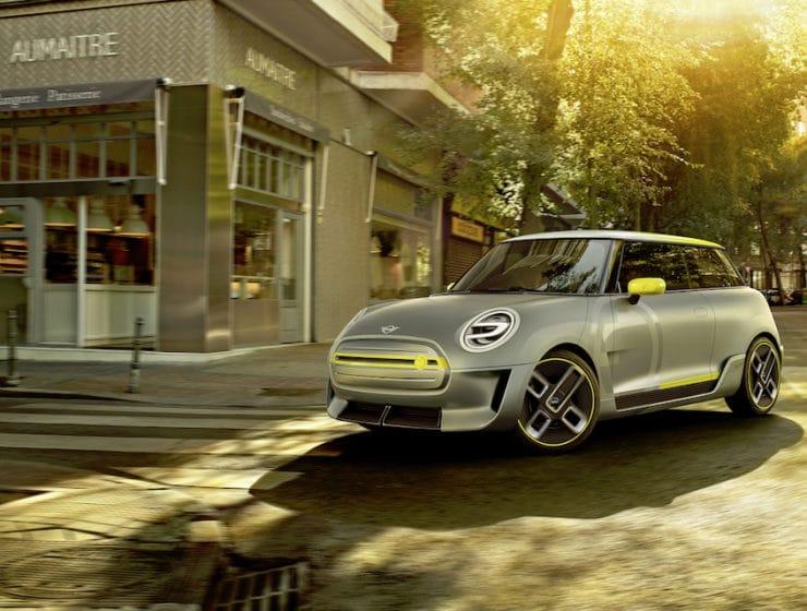 MINI Electric Concept - elektrische auto