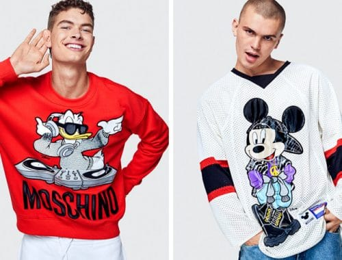 H&M x Moschino collectie mannen