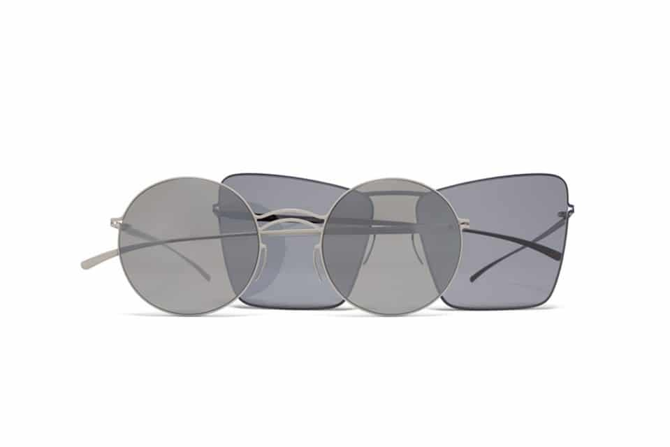 7be11f3a56a0a8 MYKITA   Maison Margiela onthullen collectie zonnebrillen in 70 s stijl