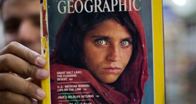 National Geographic Magazine Covers Timelapse Video