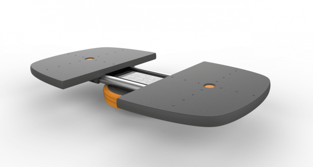 Nautilus M-Pad review thuis fitness