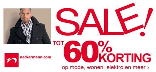 Neckermann Online uitverkoop | Mannen mode tot 60% korting