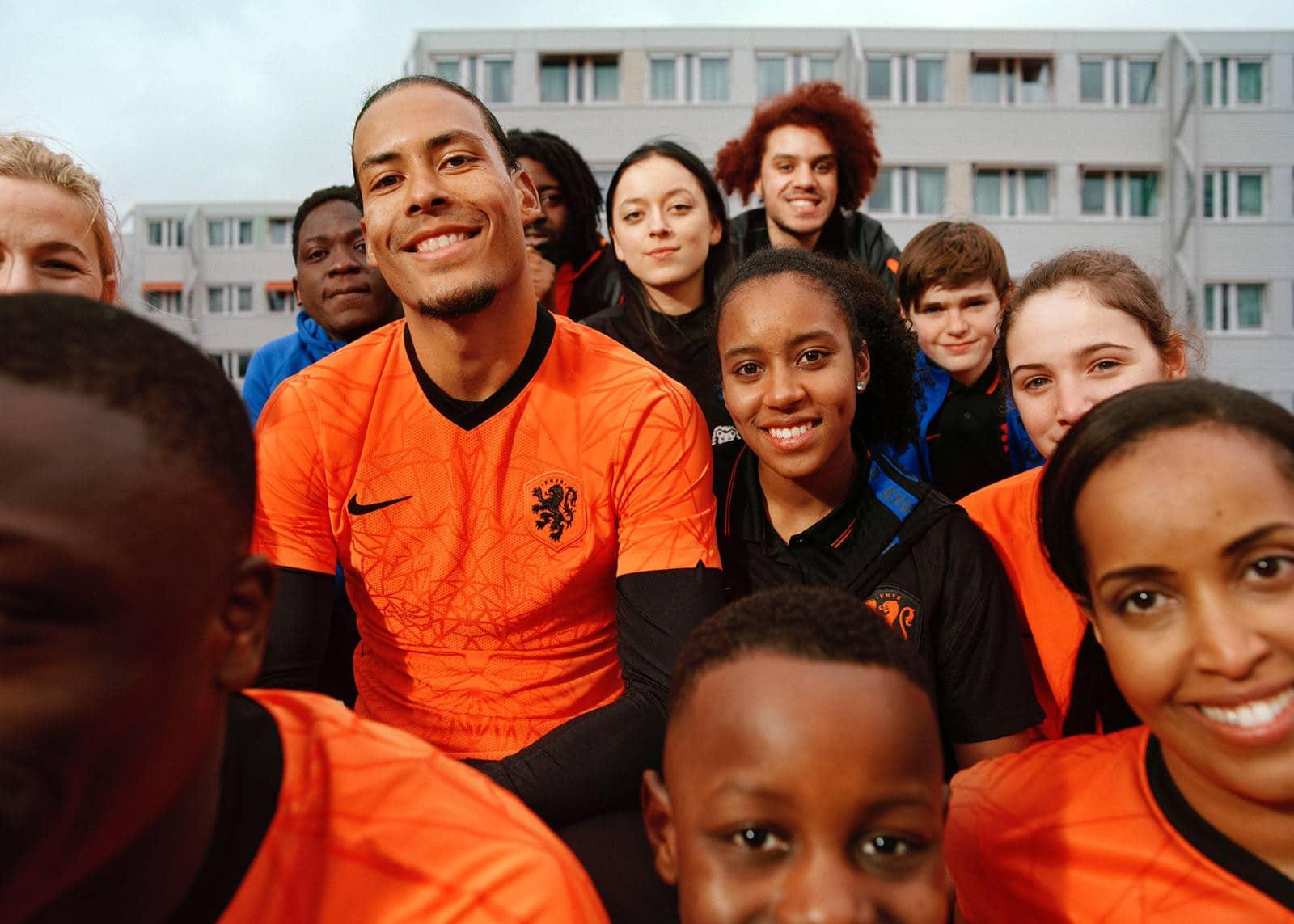 nederlands elftal thuisshirt ek 2021