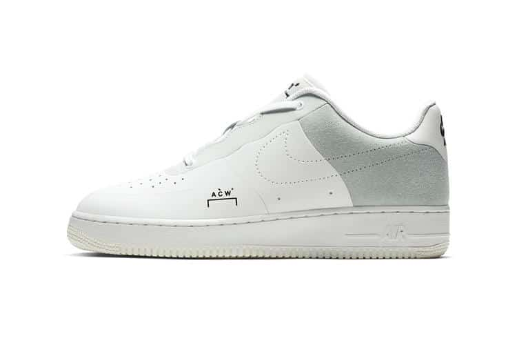 A-COLD-WALL* x Nike Air Force 1 Low White