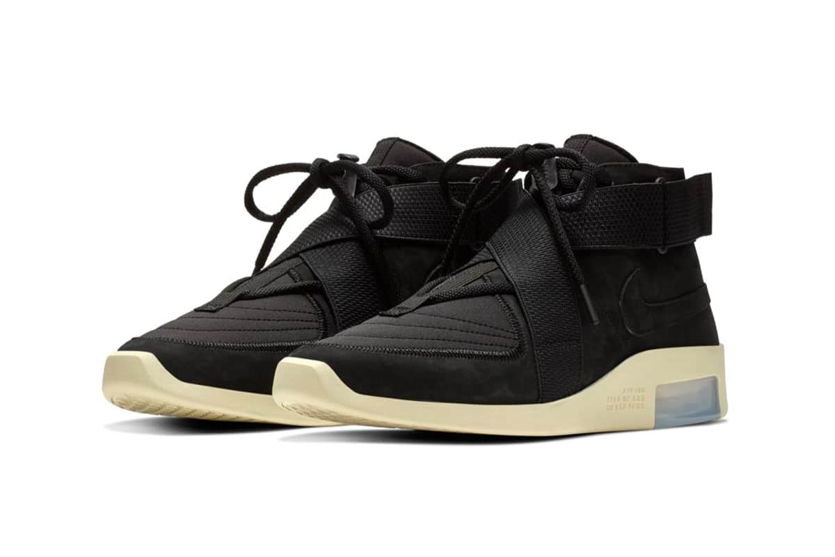 Nike Air Fear of God Raid Black/Black Fossil
