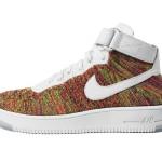 cheap for discount 3375e cae3d De Nike Air Force 1 Flyknit Multicolor