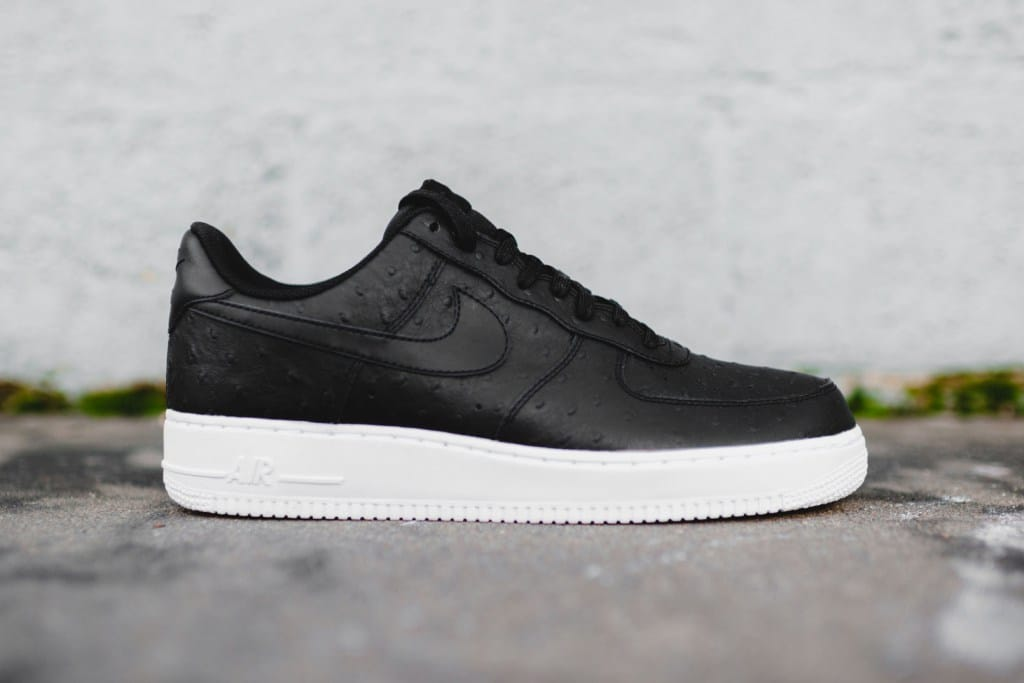Nike Air Force 1 Dames Zwart