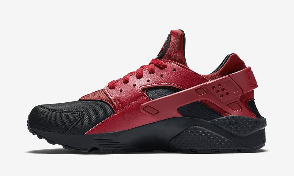 nike-air-huarache-black-gym-red-sneakers-online-mannenstyle