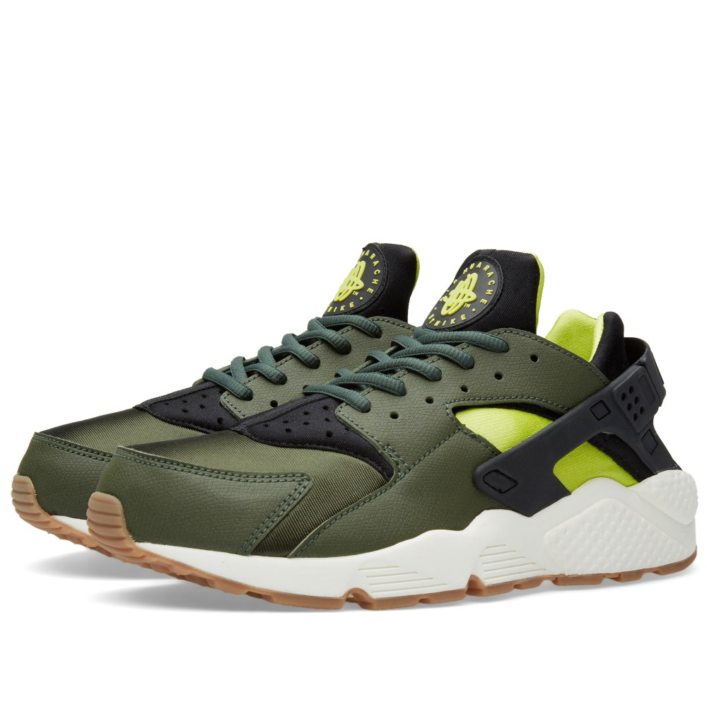 nike-air-huarache-carbon-green-black-sneakers-online-mannenstyle