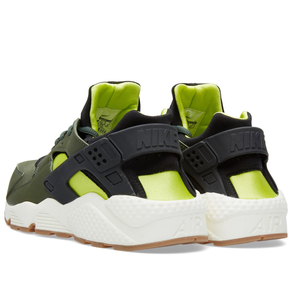 nike-air-huarache-carbon-green-black-sneakers-online-mannenstyle 3
