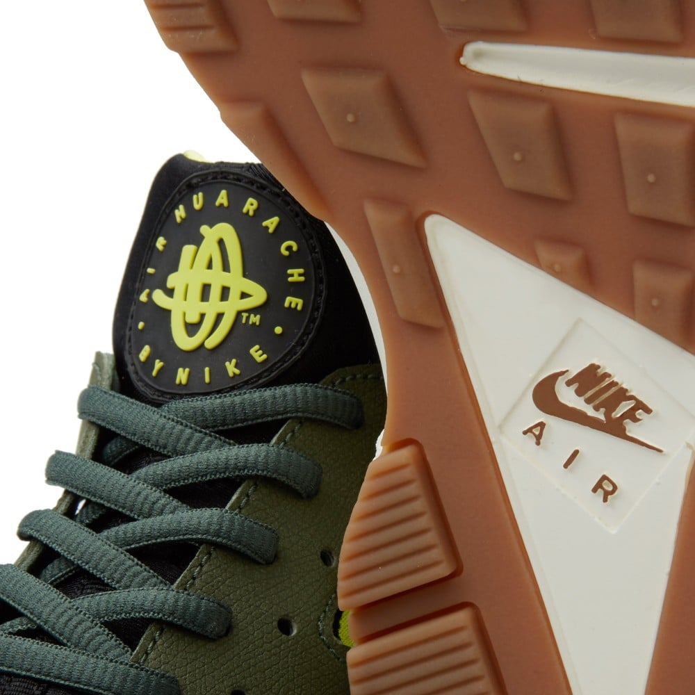 nike-air-huarache-carbon-green-black-sneakers-online-mannenstyle 4