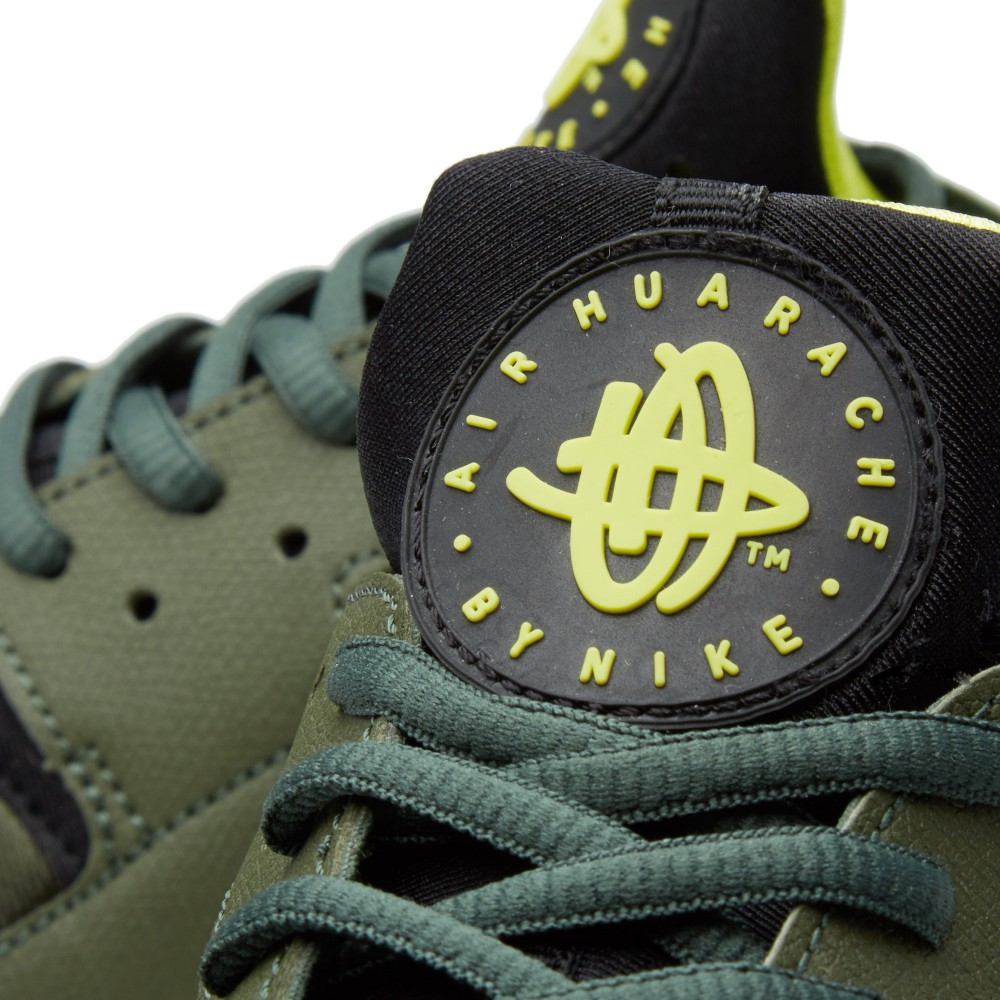 nike-air-huarache-carbon-green-black-sneakers-online-mannenstyle 6