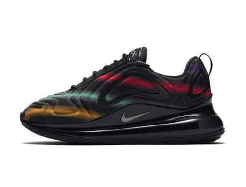 Nike Air Max 720 Black Multi Neon Streak