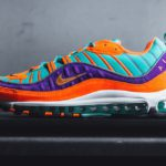 Nike Air Max 98 QS Turqoise, Orange & Purple