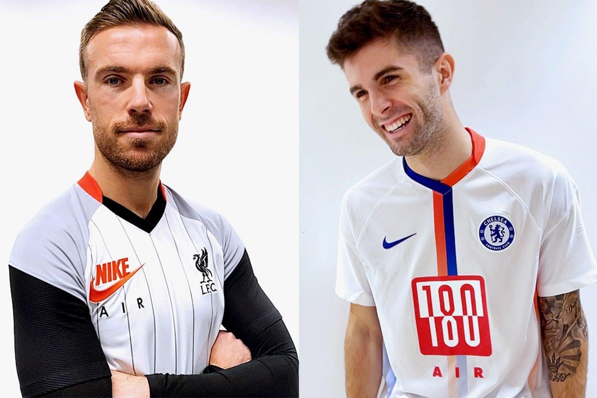 Speciale editie Nike Air Max-voetbalshirts Liverpool, Tottenham & Chelsea