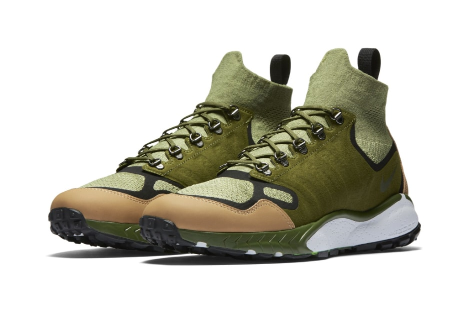 watch 7a4d8 d478c De Nike Air Zoom Talaria Mid Flyknit in Military Green