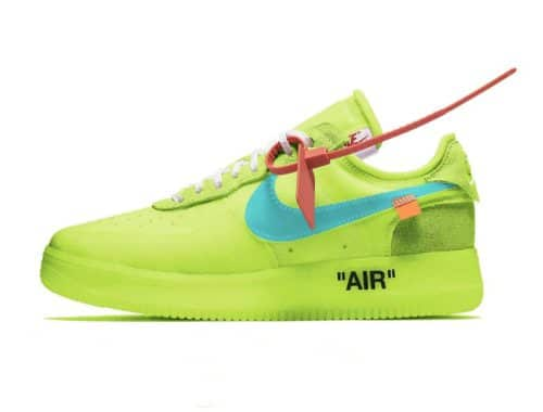 Virgil Abloh x Nike Air Force 1 Low Volt