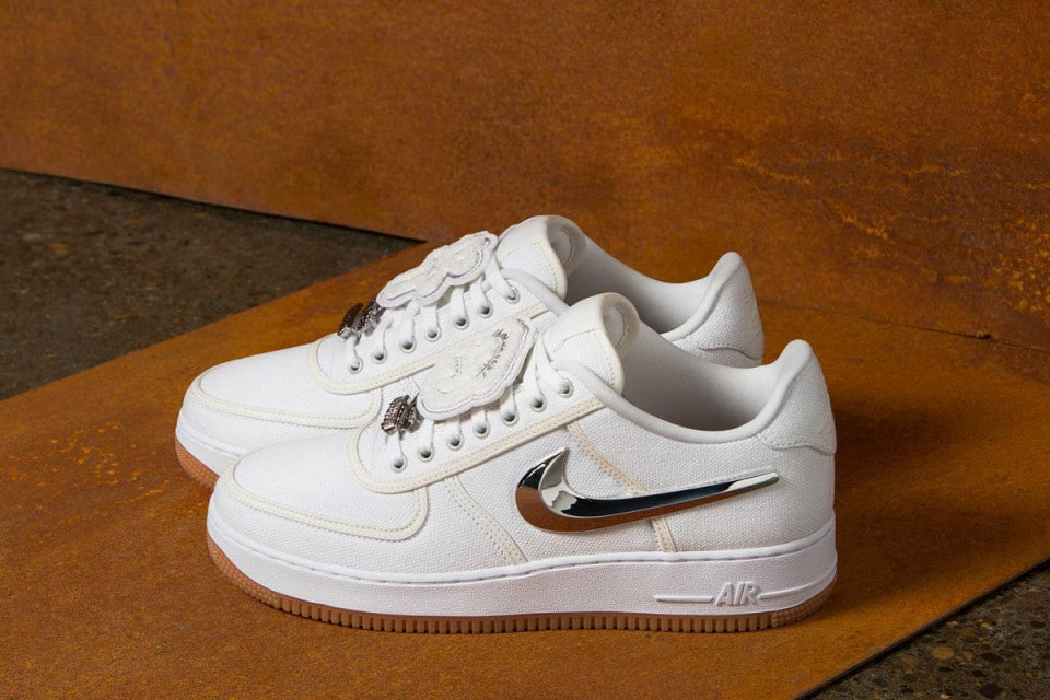 best sneakers cc077 c2bae Travis Scott x Nike Air Force 1 Low