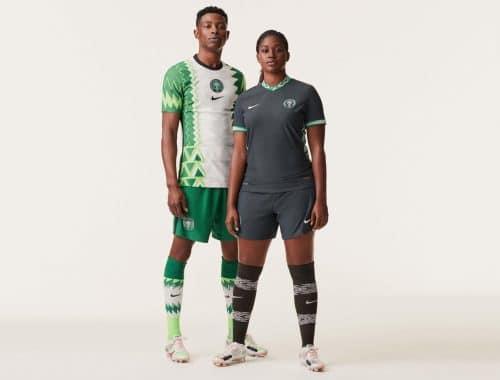 Nike 2020 voetbalshirt van Nigeria