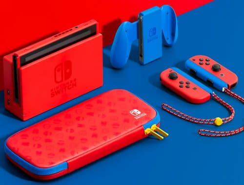 Nintendo Switch Mario Red & Blue Edition viert 35 jaar Super Mario Bros.