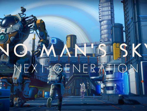 No Man's Sky update - playsation 5 - xbox series x s