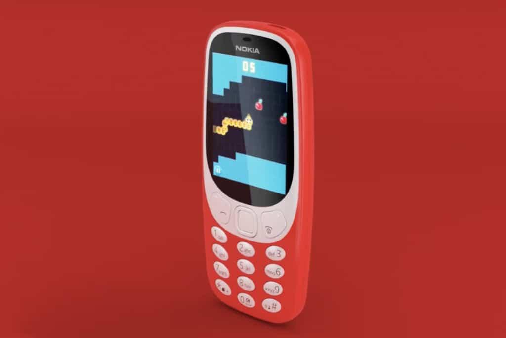 Nokia 3310 terug