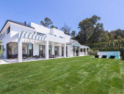 Los Angeles villa LeBron James interieur wonen