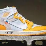 Off-White x Air Jordan 1 Canary Yellow