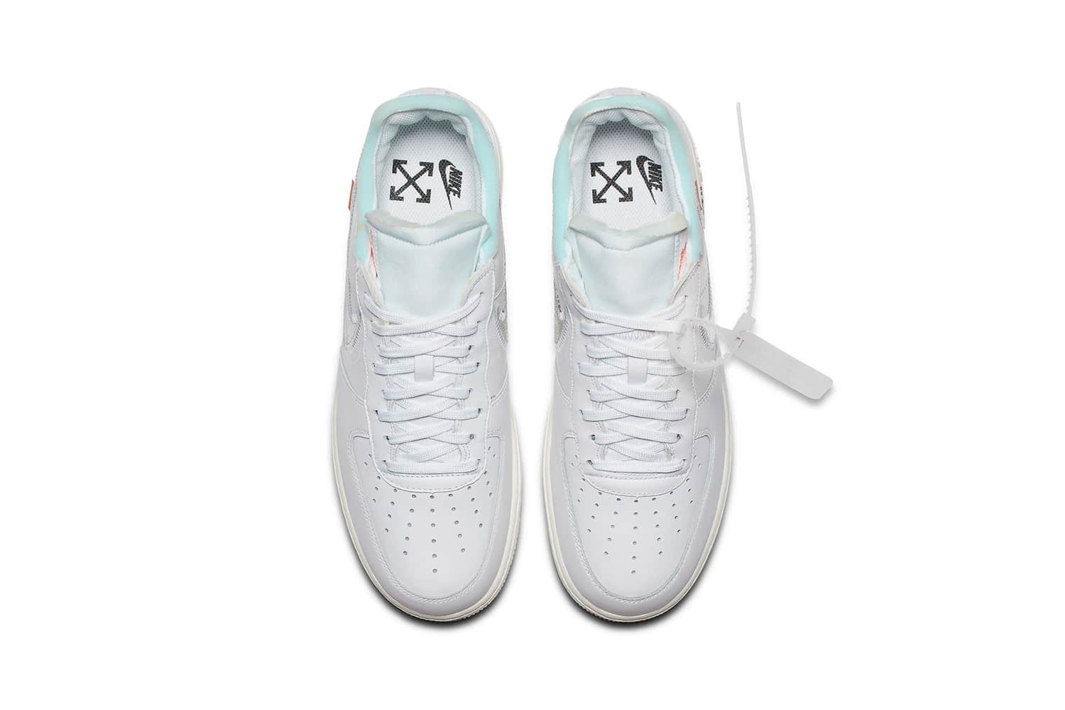 Virgil Abloh x Nike Air Force 1 White