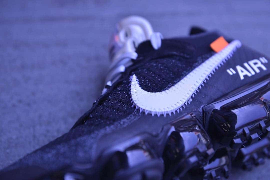 Meer details van de OFF WHITE x Nike Air VaporMax | MANNENSTYLE