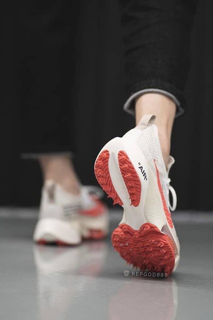 Off-White x Nike Air Zoom Tempo NEXT% Beige