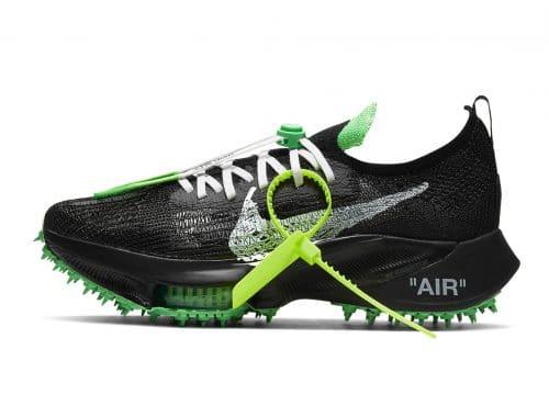 Off-White x Nike Air Zoom Tempo NEXT% sneaker capsule