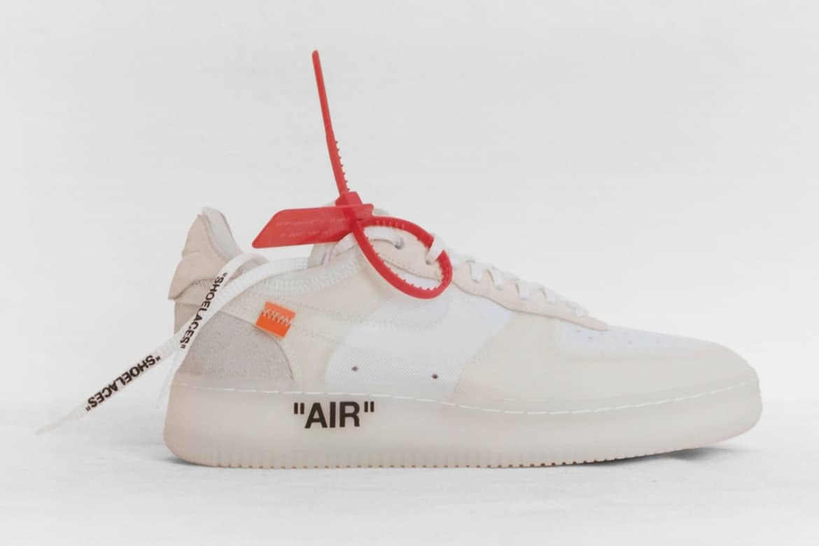 Off-White x Nike 10 sneakers Nederland
