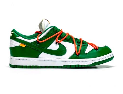 Off-White x Nike Dunk Low Pine
