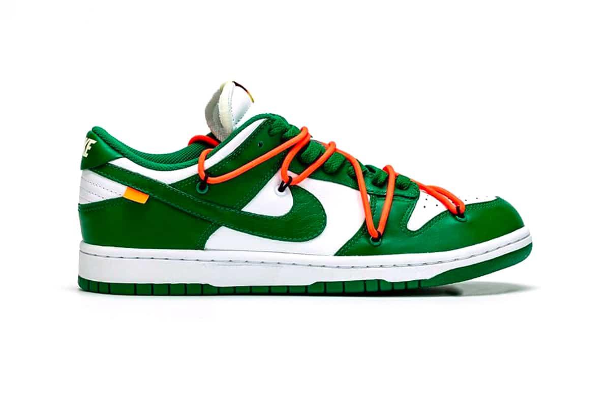 Off-White x Nike Dunk Low Pine