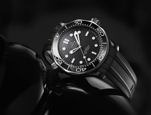 Omega Seamaster Diver 300M Zwart Keramiek & Titanium