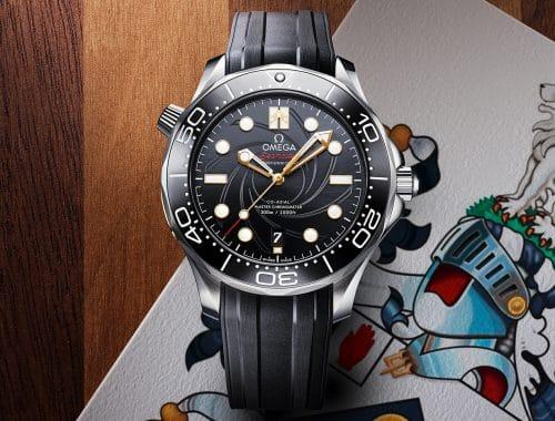 OMEGA Seamaster Diver 300M James Bond