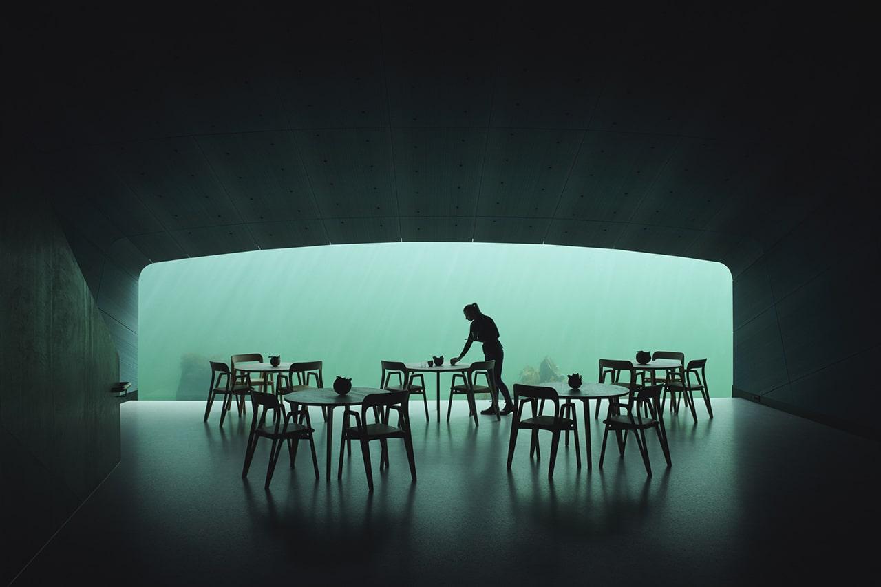 restaurant Under Noorwegen - Snøhetta