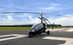 vliegende auto PAL-V Liberty flying car