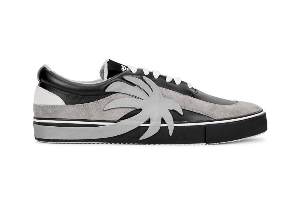 Palm Angels Vulcanized Sneakers Palm-Appliquéd