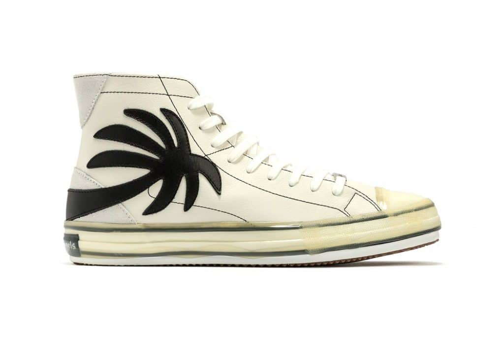 Palm Angels Vulcanized High-Top Sneakers