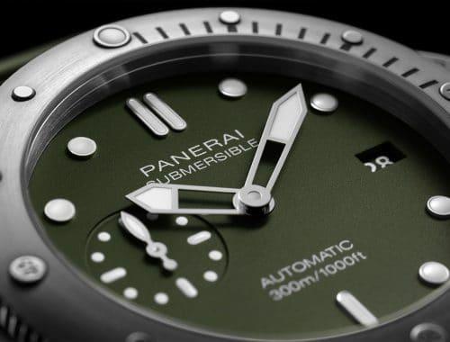 Panerai Submersible Matte-Green PAM1055