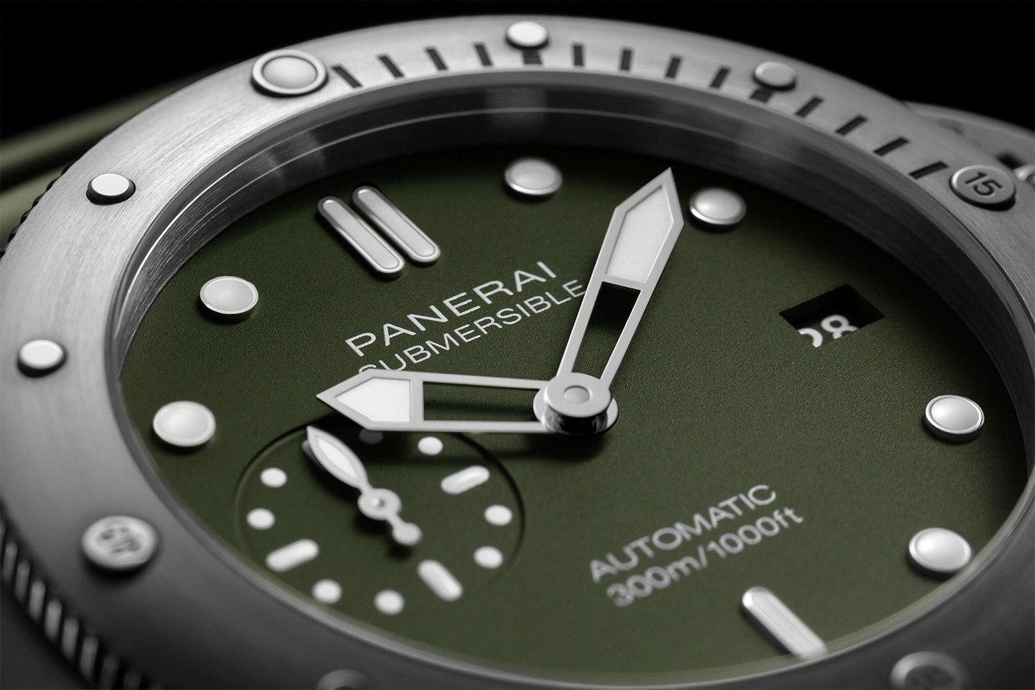 Panerai Submersible Matte-Green PAM1055