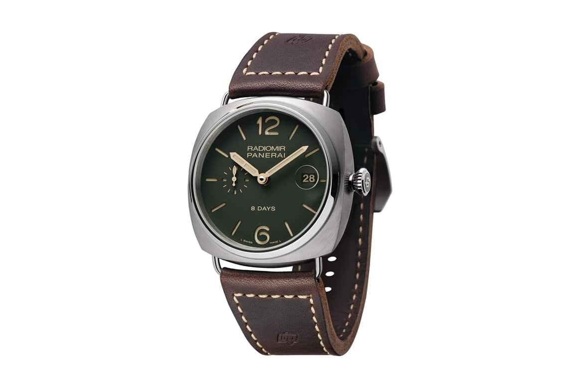 Panerai Green Dial horloge collectie 2017