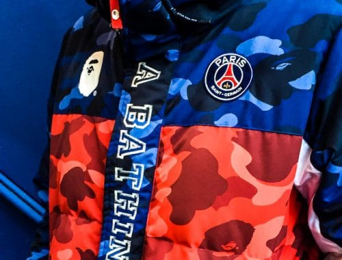 PSG x BAPE Collectie