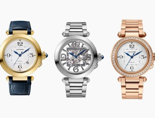 Pasha de Cartier horloge