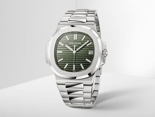 Patek Philippe Nautilus met groene dial | 5711/1A-014