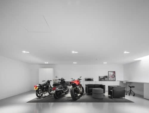moderne garage Paulo Martins Architecture