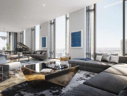 Fifth Avenue Manhatten Penthouse in New York